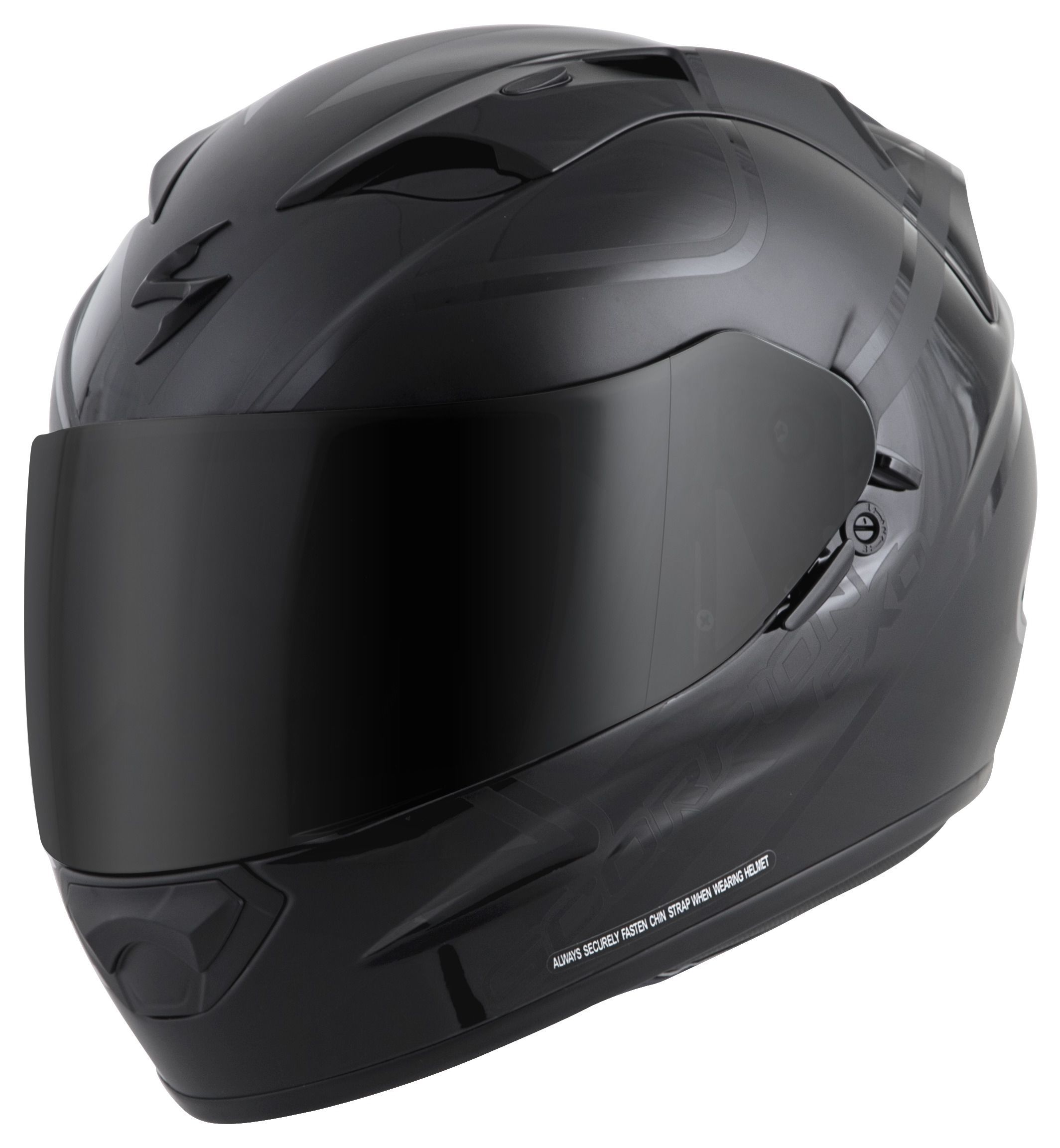 Small ICON AirFlite RUBATONE Full-Face Helmet w//Dropdown Sun Visor Matte Black