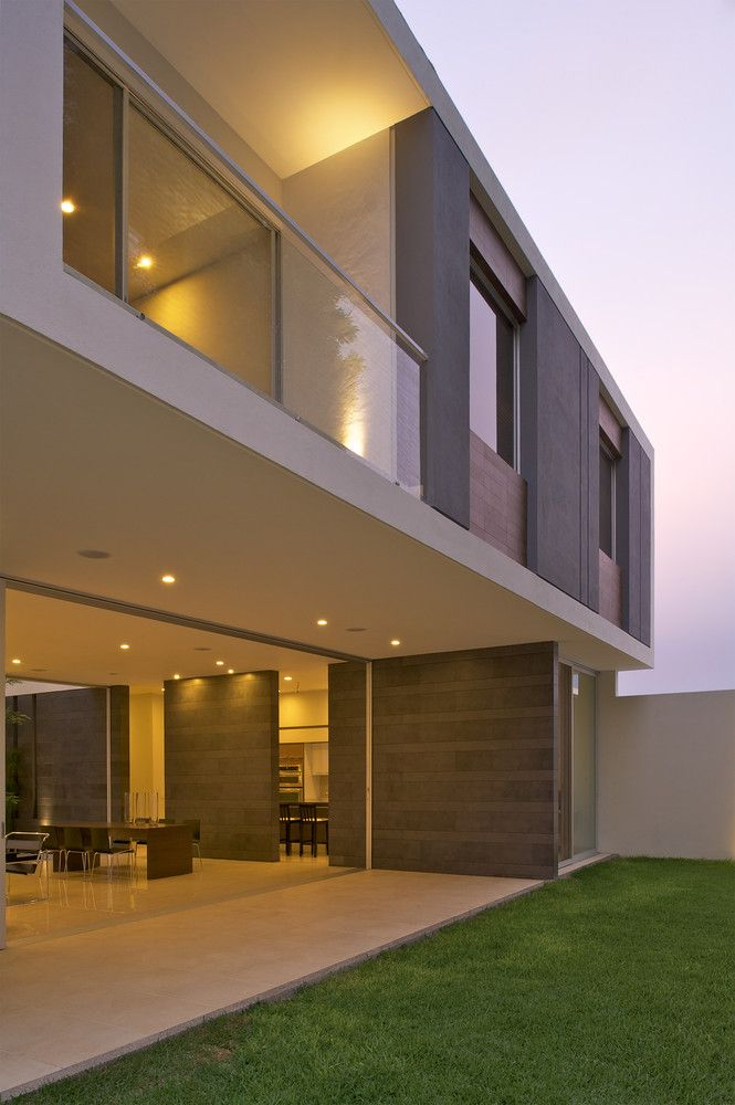 Galeria de casa koz tacher arquitectos 4 arquitetura - Arquitectos casas modernas ...