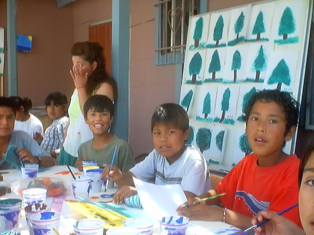 Drawing class from Corazón's Youth Program! #nonprofit #charity #Corazon