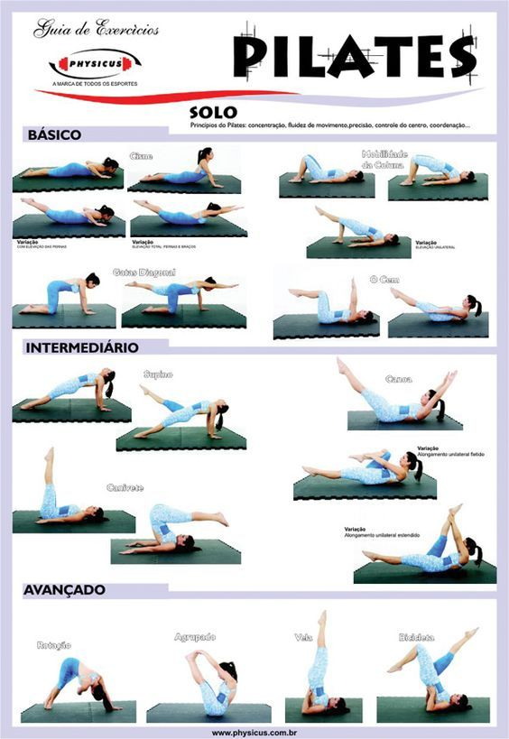 Pilates Workout Sheet   Pilates    Workout Sheets