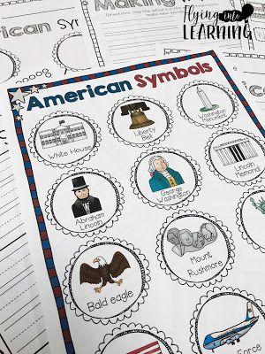 Teaching Ideas For American Symbols Education Pinterest