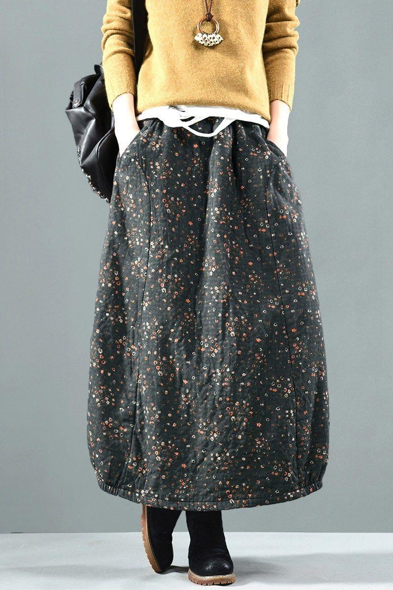 78493a715af Sweet corset утеплённая юбка с принтом