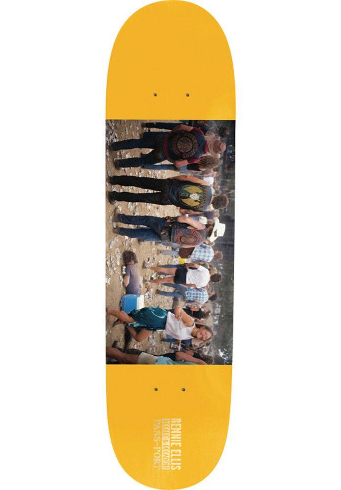 Passport-Skateboards Rennie-Ellis-Face-Down-Hells-Angels - titus-shop.com  #Deck #Skateboard #titus #titusskateshop