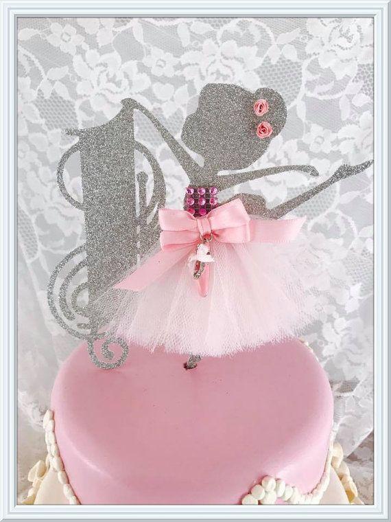 Ballerina Cake Topper Ballerina Party Decorations Ballerina