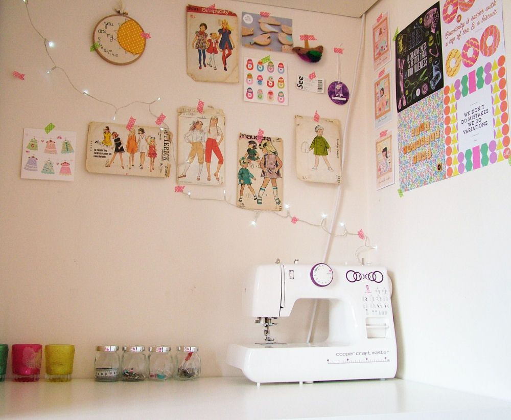 A sewing space | Blog