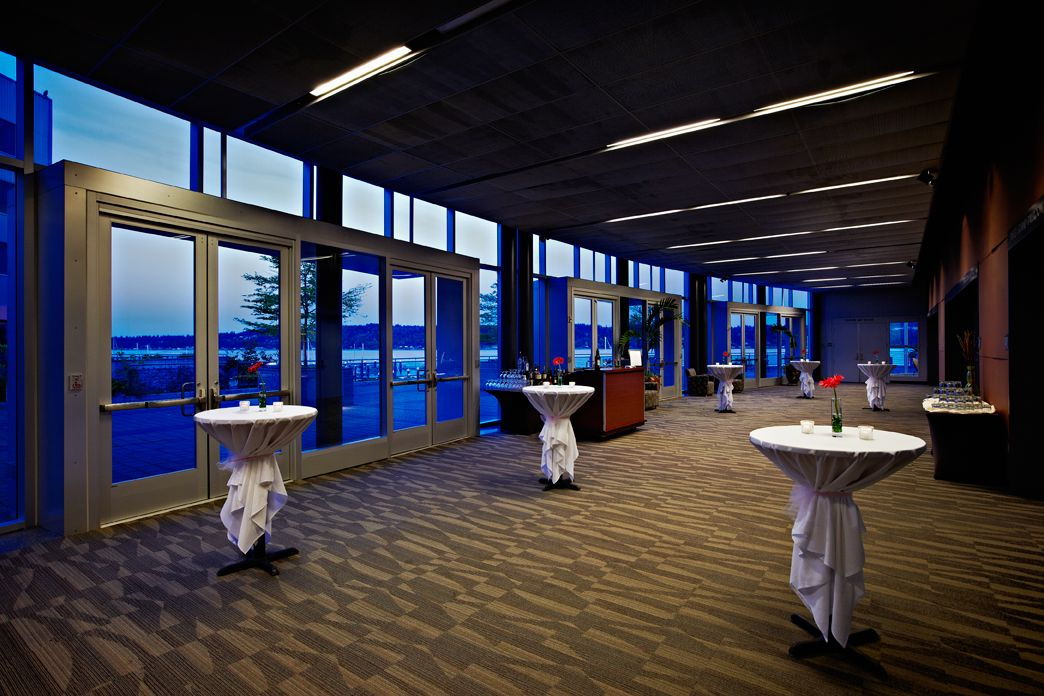 Cocktails In The Sinclair Gallery At Kitsap Conference Center