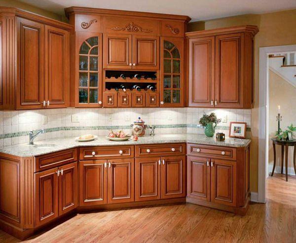 Kitchen Oak Cabinets  Elegant Oak Kitchen Cabinet Furniture Stunning Kitchen Designs With Oak Cabinets Decorating Inspiration