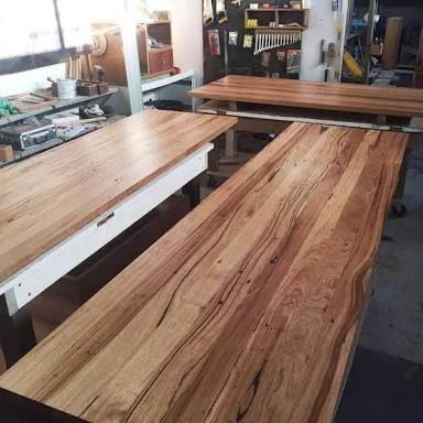 Afbeeldingsresultaat voor reclaimed timber benchtops melbourne