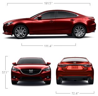 Exceptional 2014 Mazda 6   MidSize Cars   Specs U0026 Features | Mazda USA