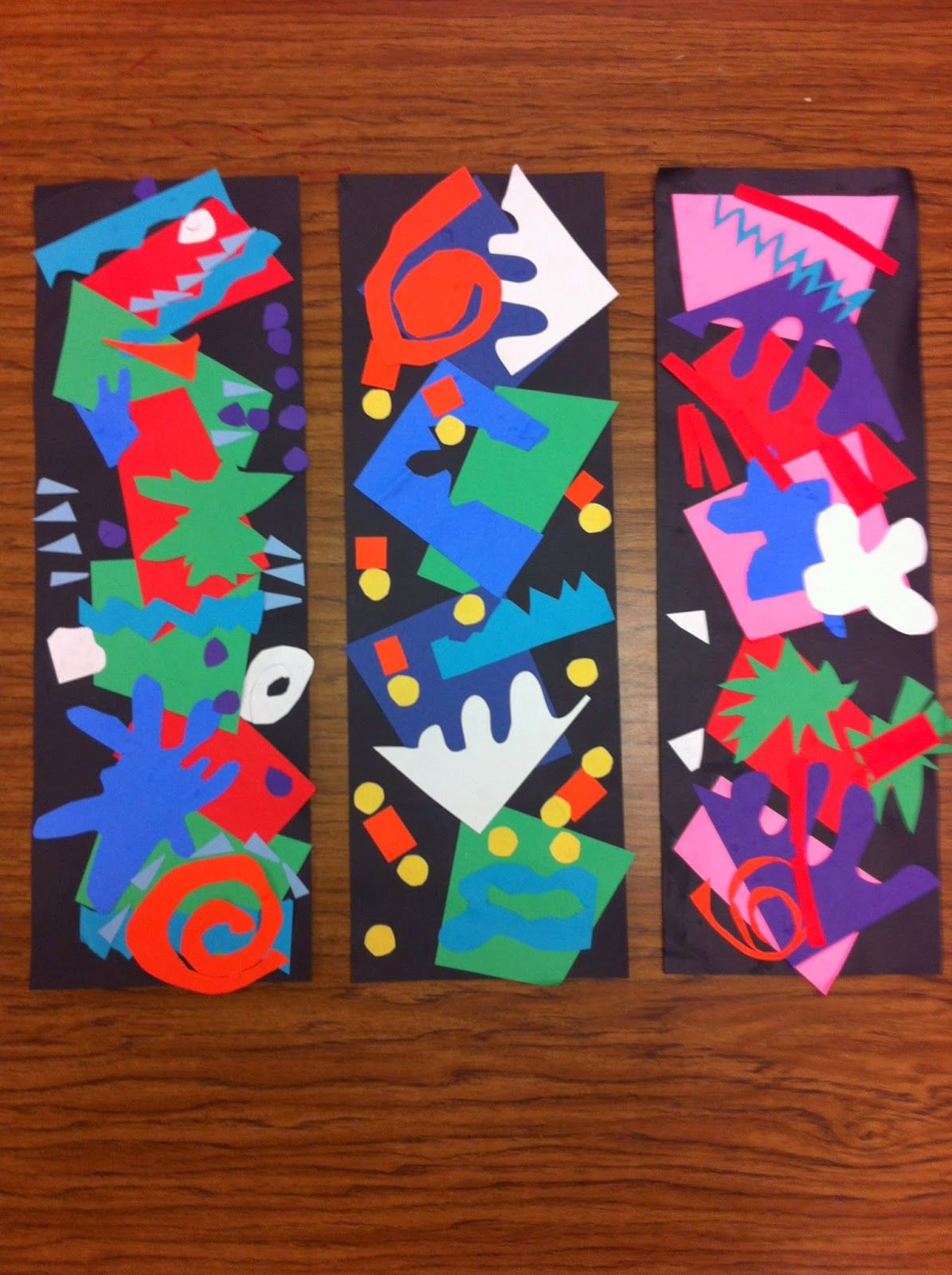 Photo of Drip, Drip, Splatter Splash- Matisse Cutouts great way to use all my paper scrap…