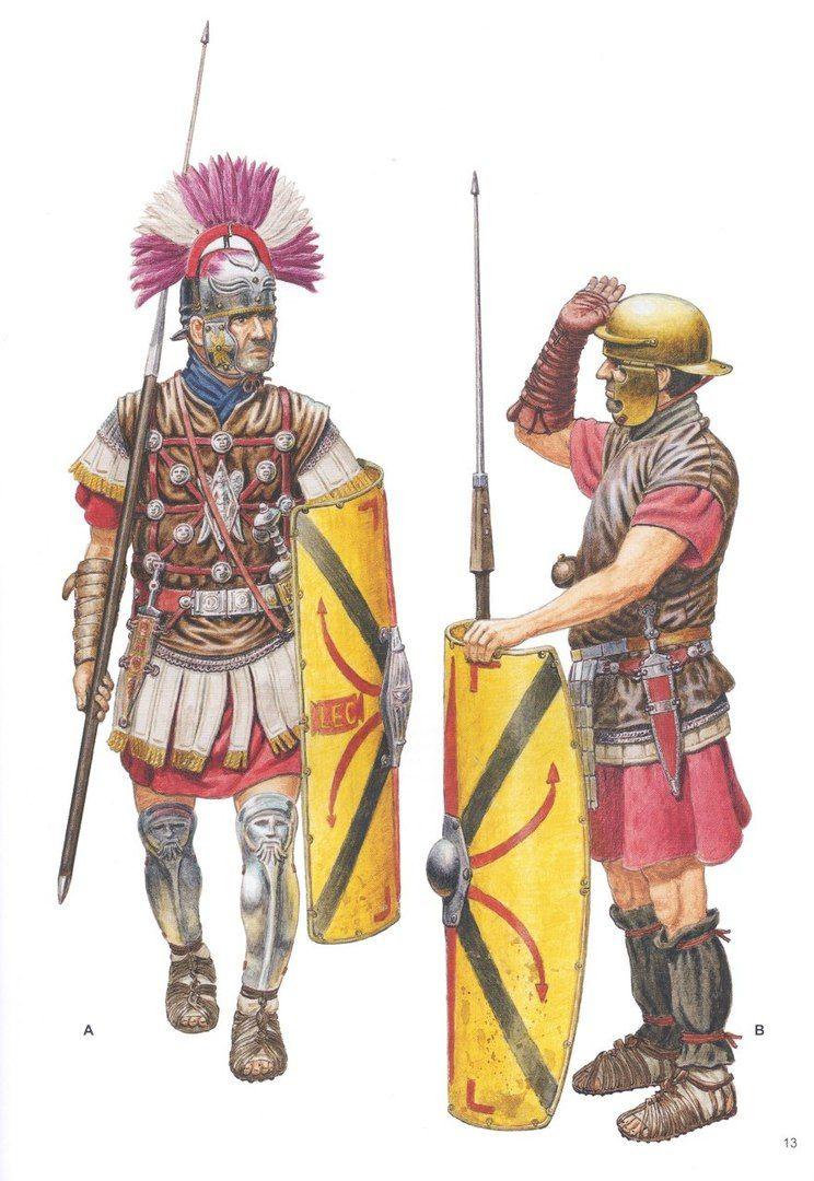 Centurione passa in rassegna legionario. Войны и воины | War and History