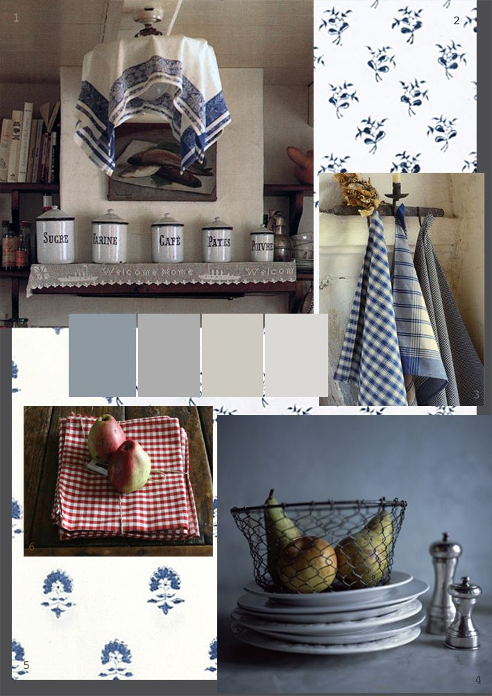 The Paper Mulberry: French Farmhouse Style - cooking & eating