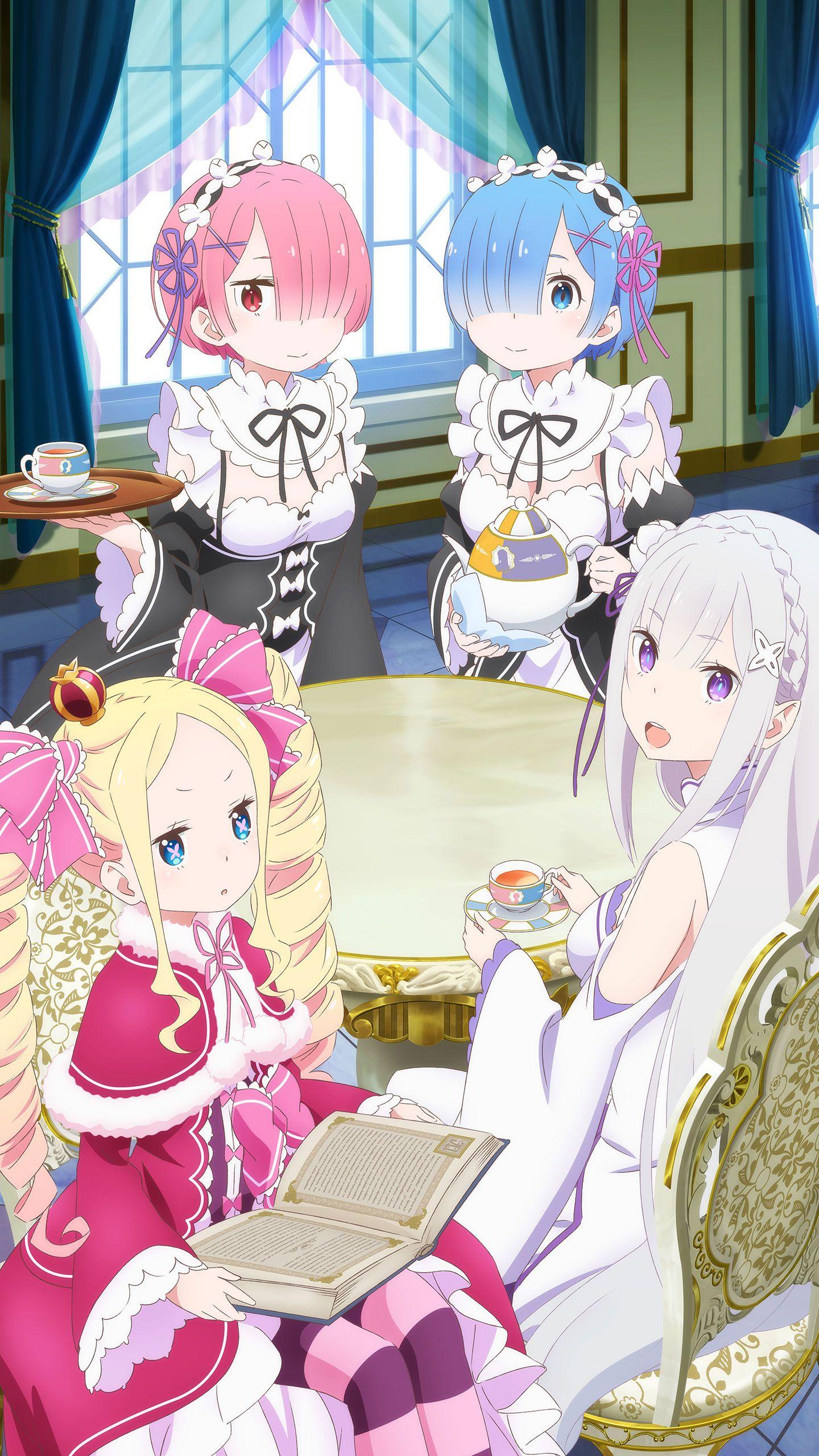(*=3=*) insta rizw_n_kh_nReZero19 Re zero Anime