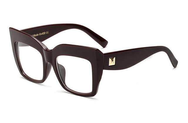 6d75dbb0e283 DRESSUUP 2016 Mix Rose Gold Glasses Frame Women Eyeglasses Optical Ladies  Clear Lens Fashion Frames Spectacles Oculos De Grau