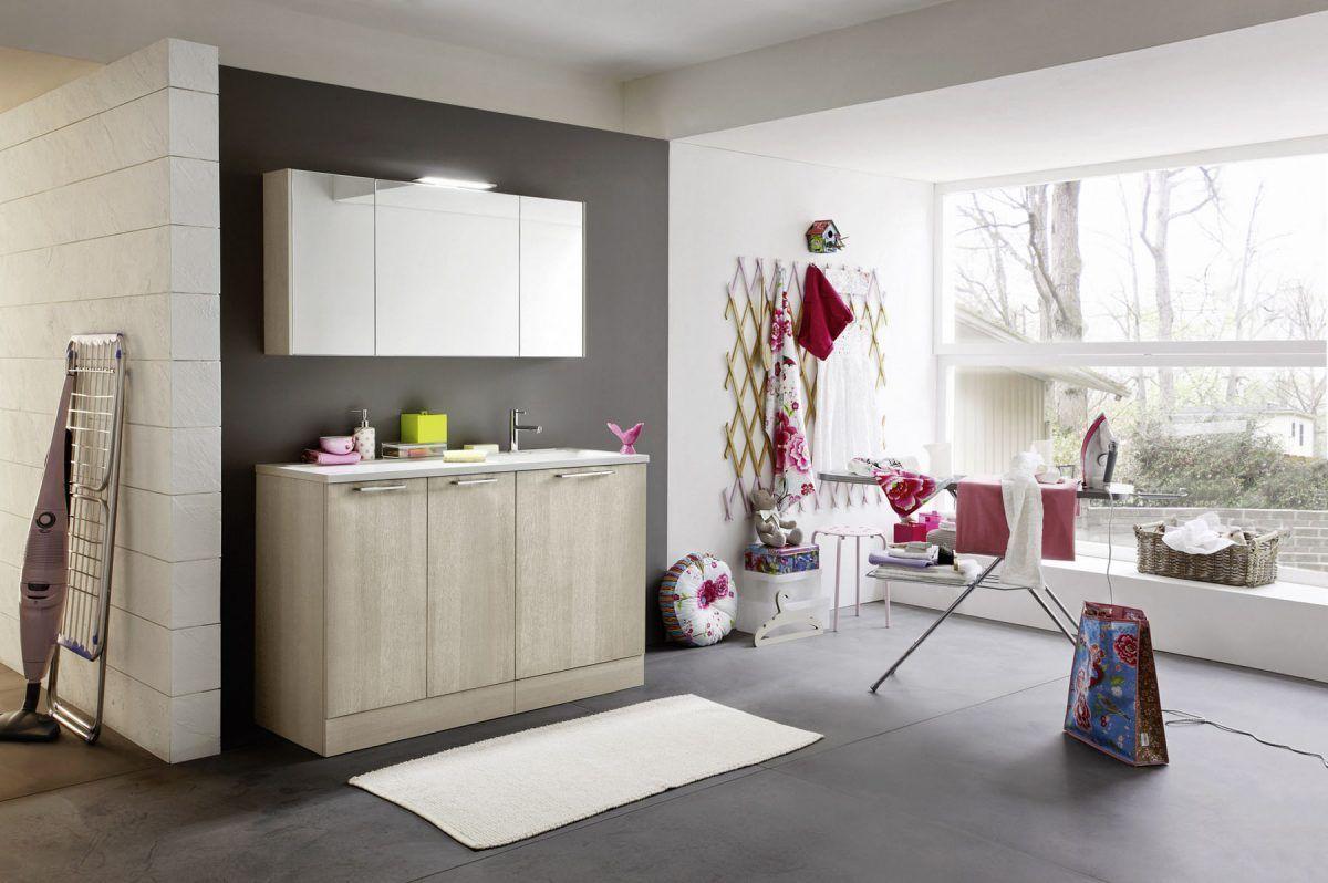 Arbi bathroom laundry furniture linea bolle basi