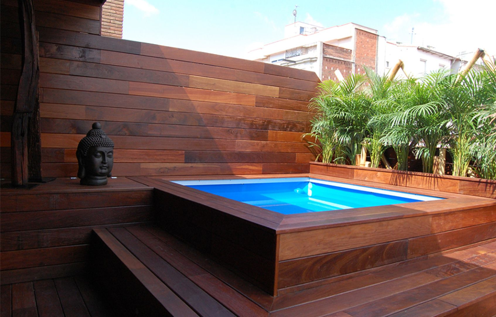 Piscina de fibra piscinas como fazer pinterest for Piscina no terraco e perigoso