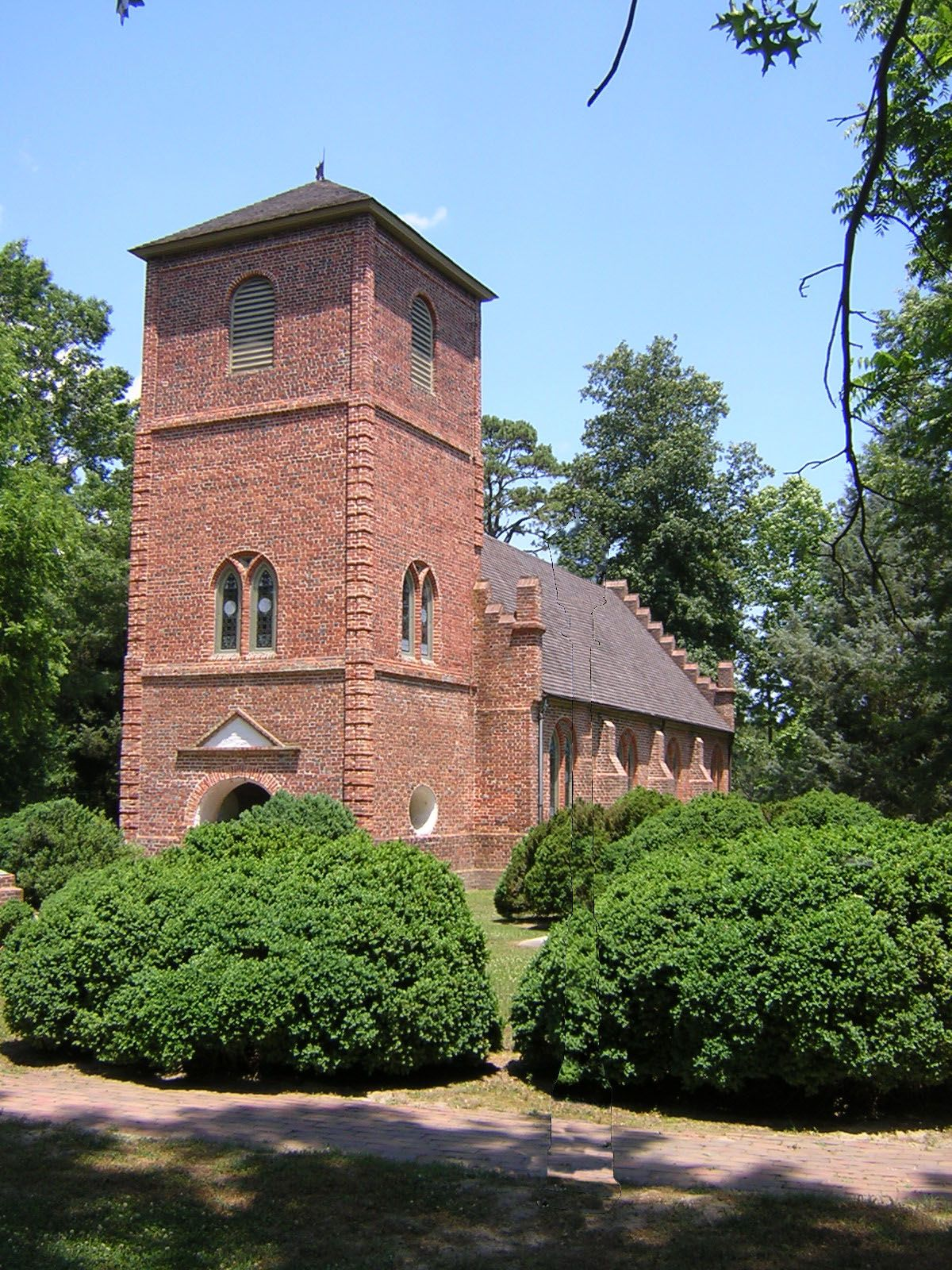 Historic St. Luke's Church Virginia's Oldest Church