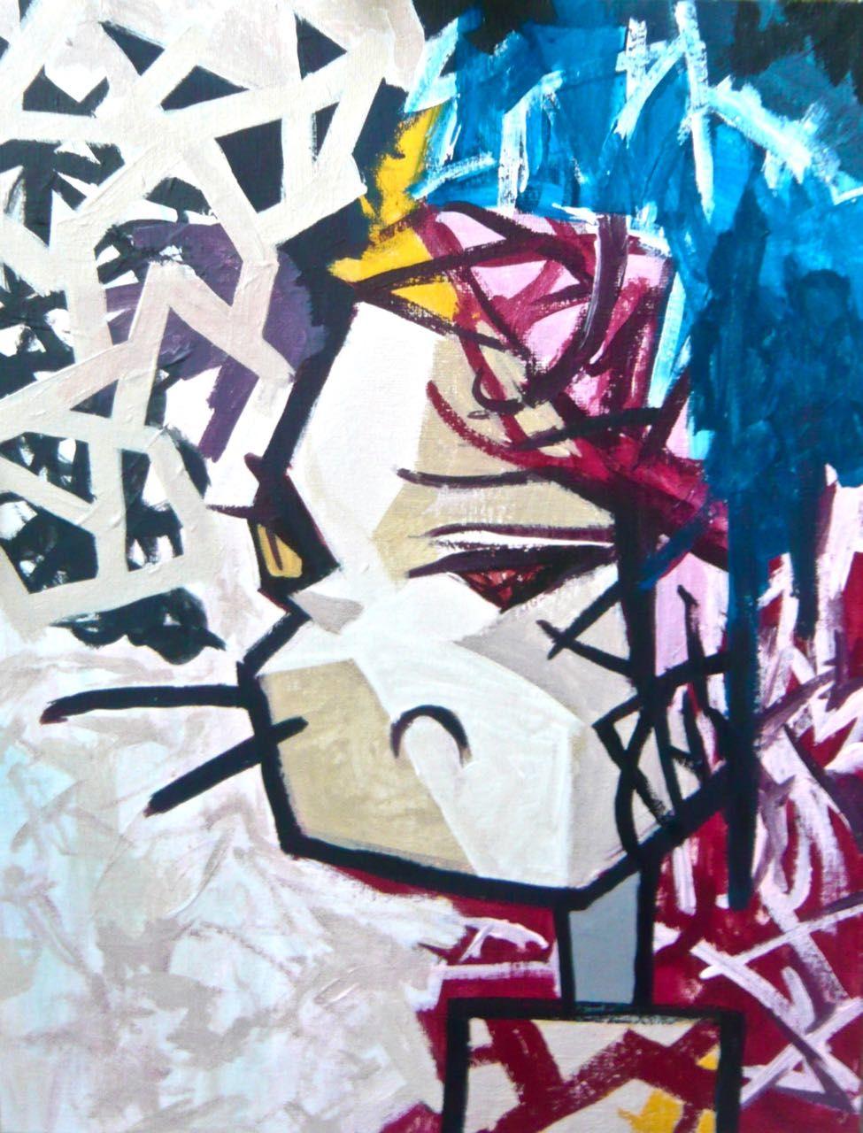 You Are Funny #comic #pop #modern #contemporary #art #graffiti #portrait #human
