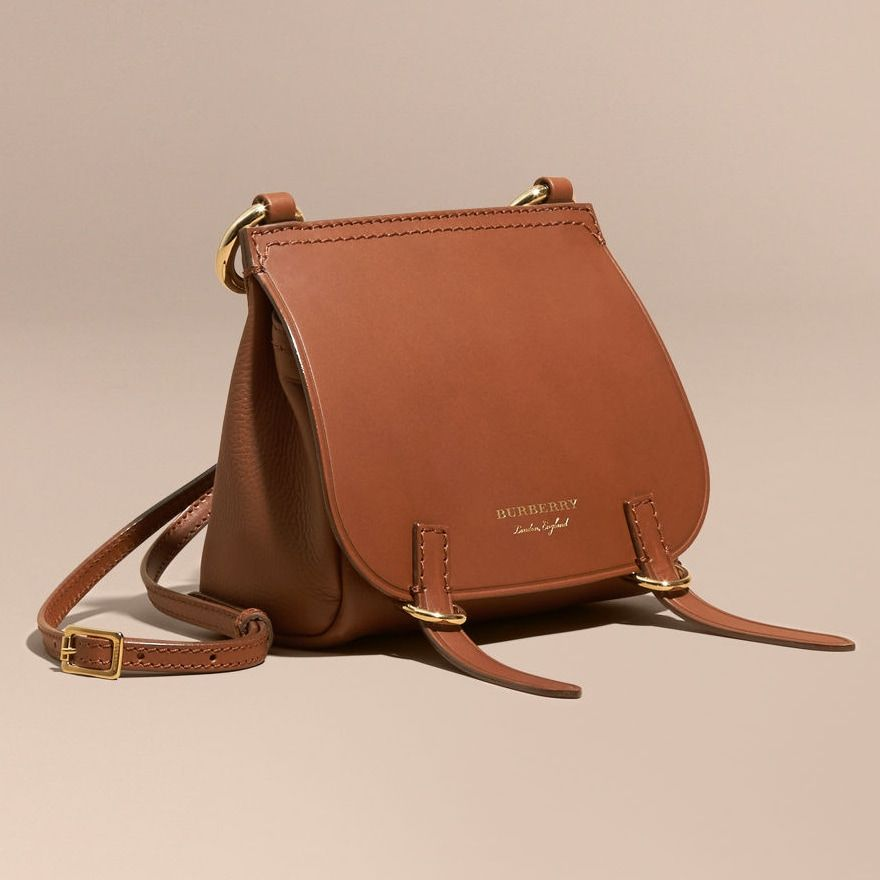 e2c773ca5d Burberry The Baby Bridle Bag in Tan Leather aso Meghan Markle Big Handbags
