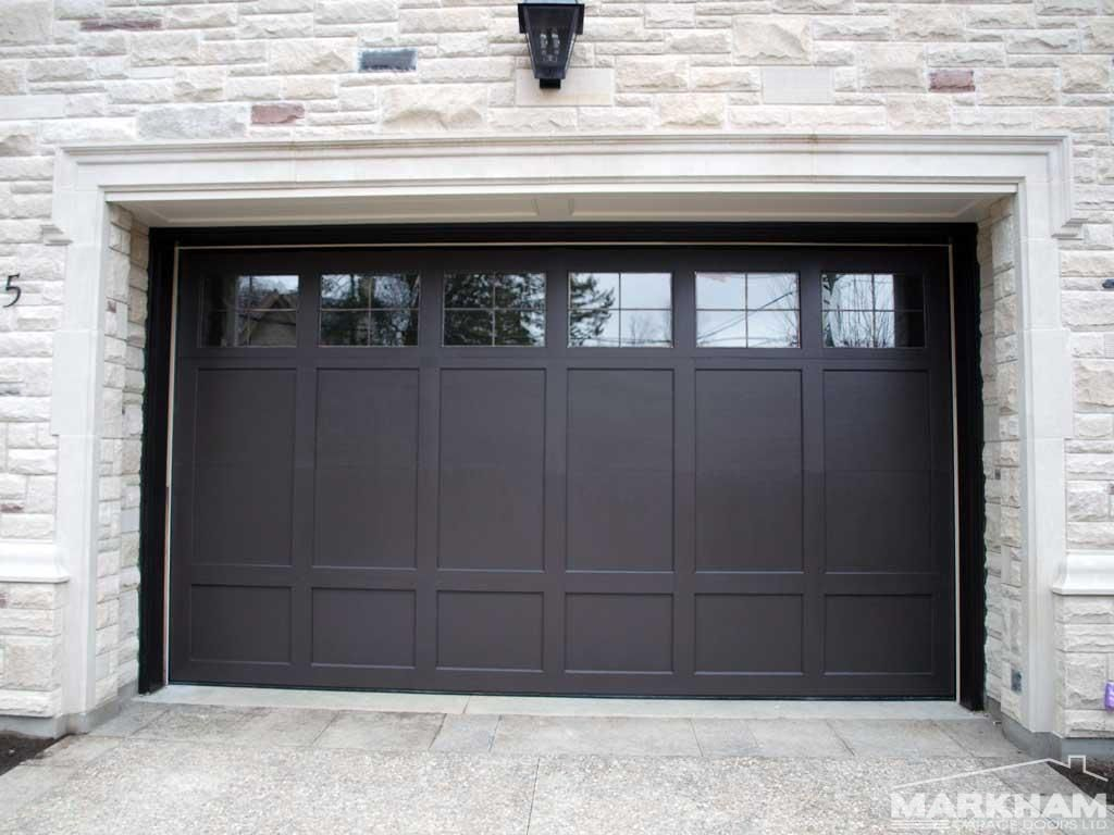 031 Coach House Recessed Panel Paint Grade With Led Taped Windows Garage Door Design Garage Door Styles Garage Doors