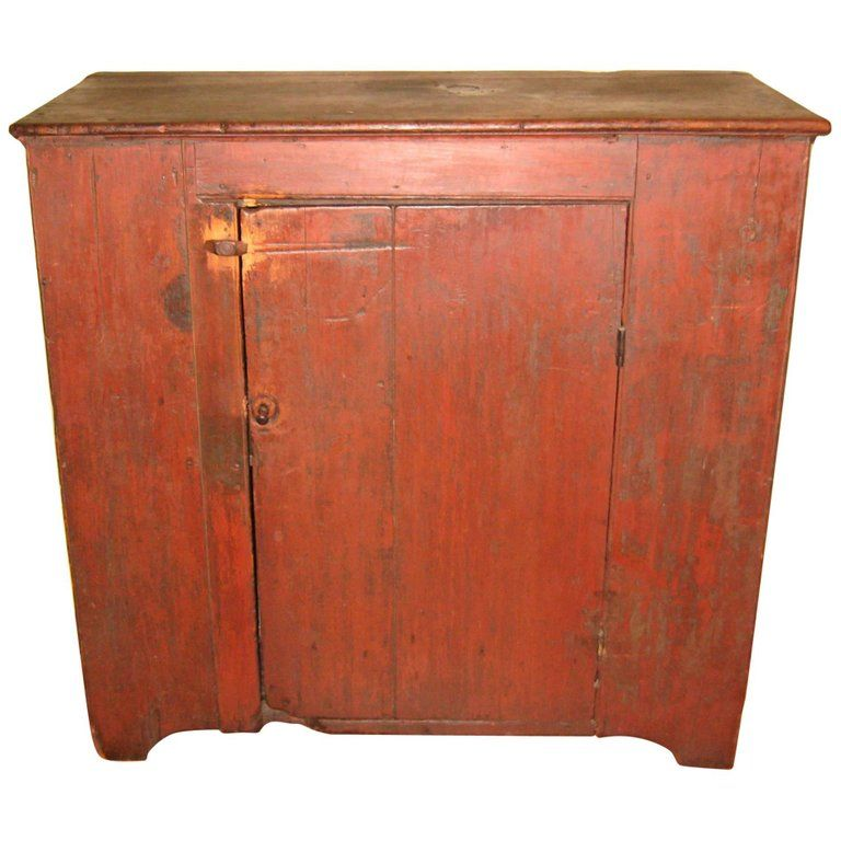 1800s One Door Primitive Farm House Antique Pine Jelly Cupboard Cabinet Jelly Cupboard Cupboard Wooden Cupboard