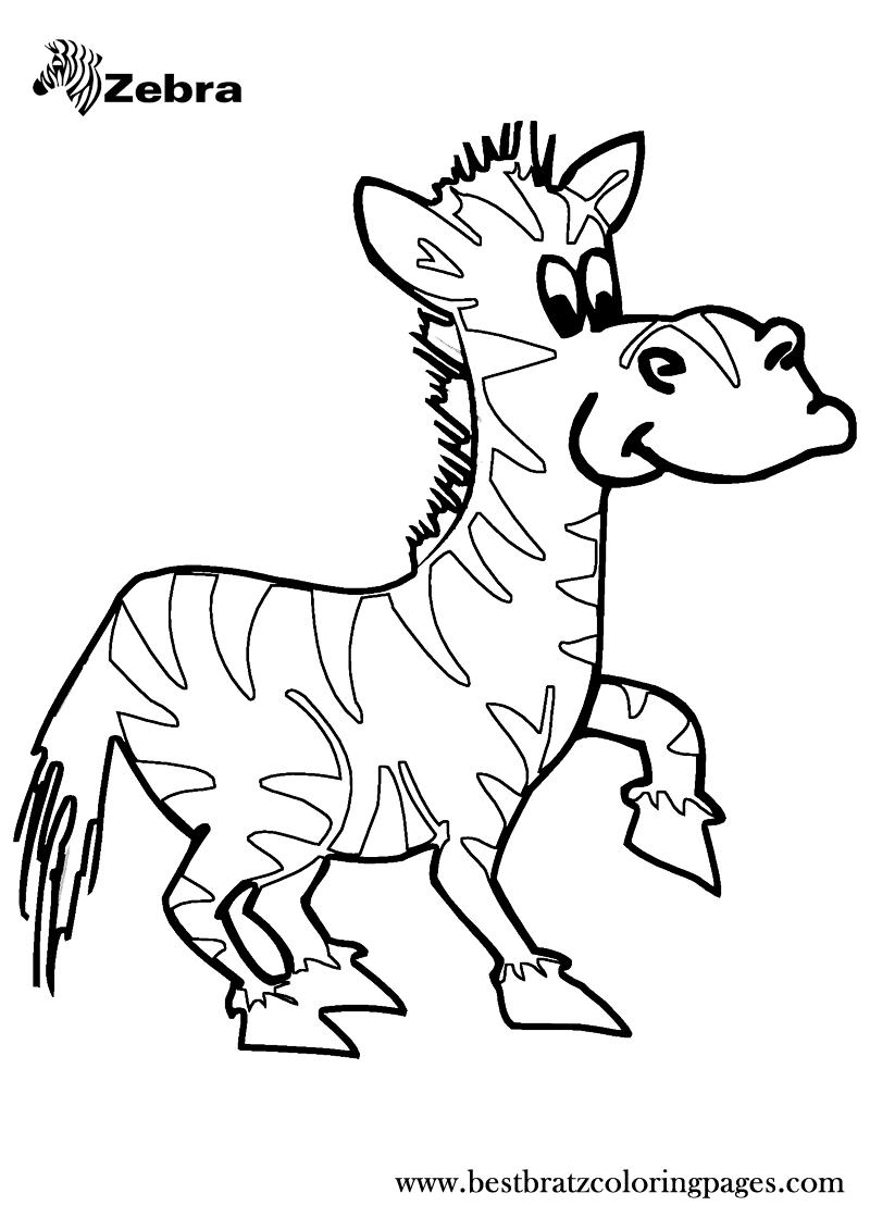 Free Printable Zebra Coloring Pages For Kids Hayvanlar