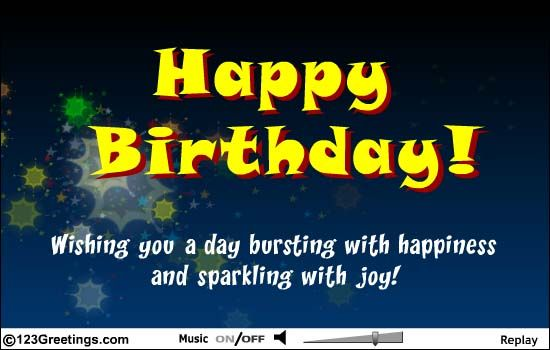 Happy Birthday Cards Free Happy Birthday eCards Greeting Cards – 123 Greetings Birthday Cards