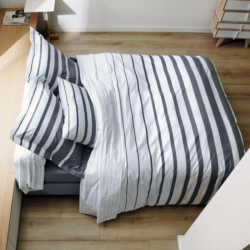 drap housse pour grand lit Linge de lit BLANC DES VOSGES