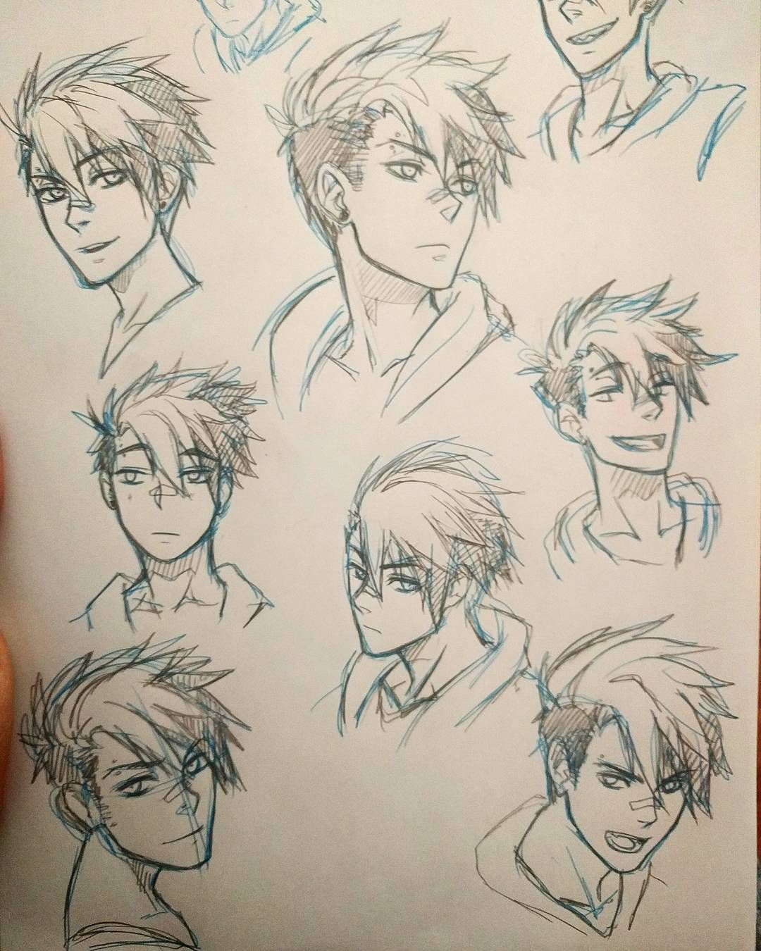 Some More Sketches Of Ian Drawing Anime Bodies Anime Drawings Guy Drawing