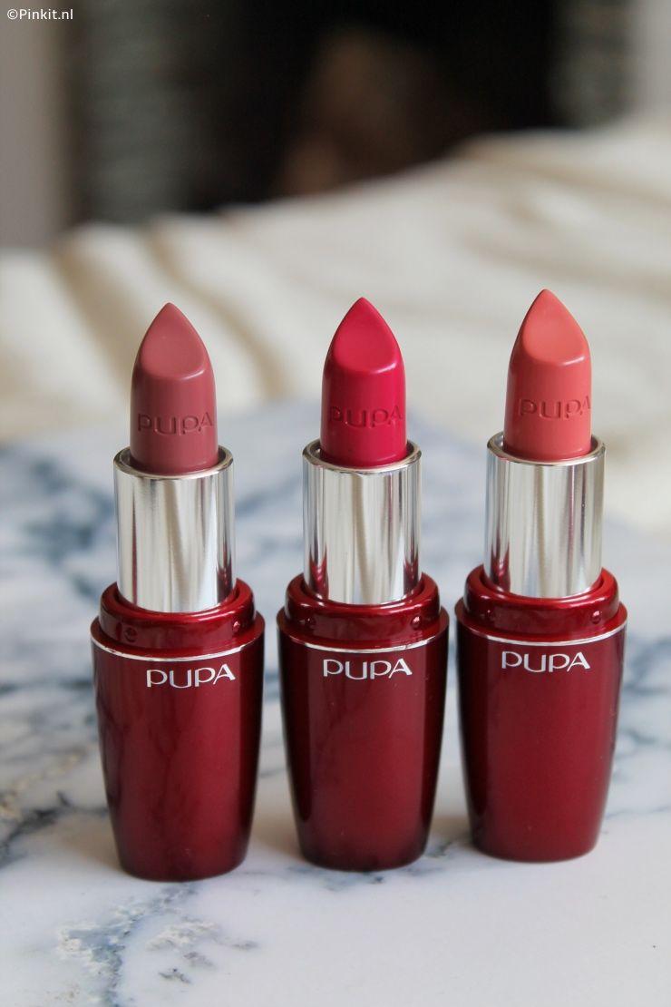 Pupa Im Lipsticks | Mercan, Mor