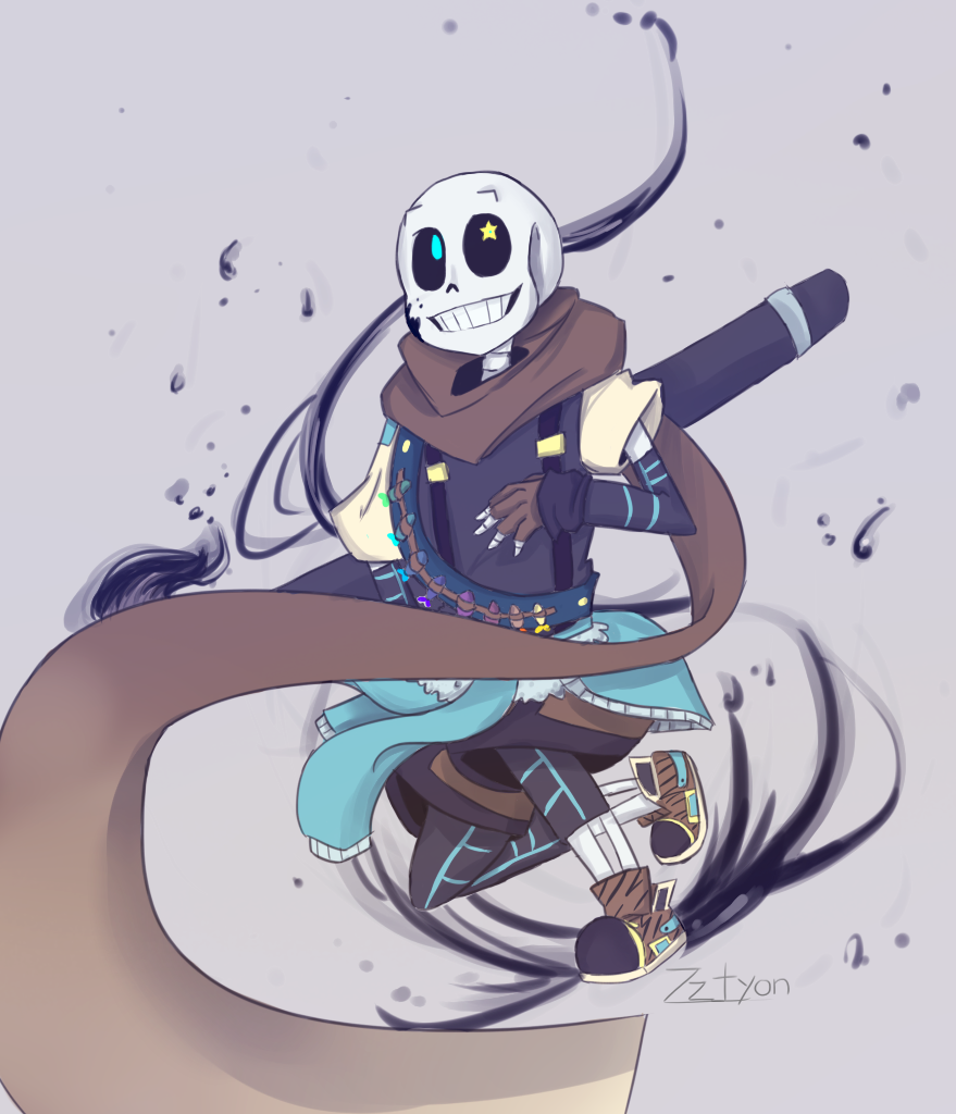 Ink!Sans | UNDER(a lot of places)TALE | Undertale pictures ...