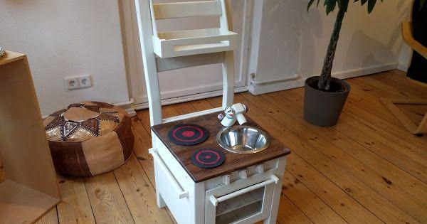 IKEAIVAR Kinder Spiel Küche aus einem Stuhl HACK Kinderspielzeug - kinder spiel k chen