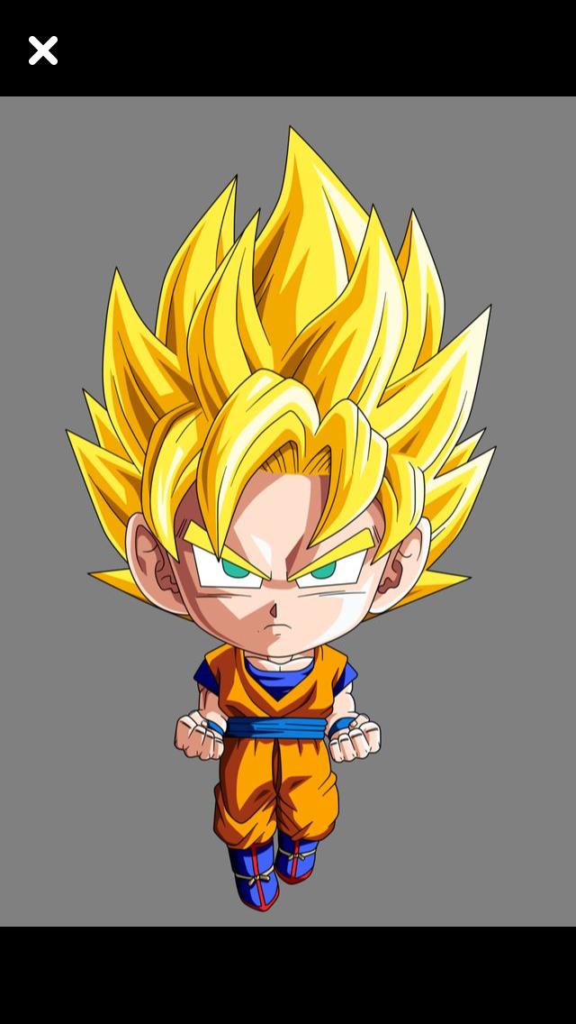 Bobble Head Goku Dragon Ball Artwork Anime Dragon Ball Super Chibi Dragon