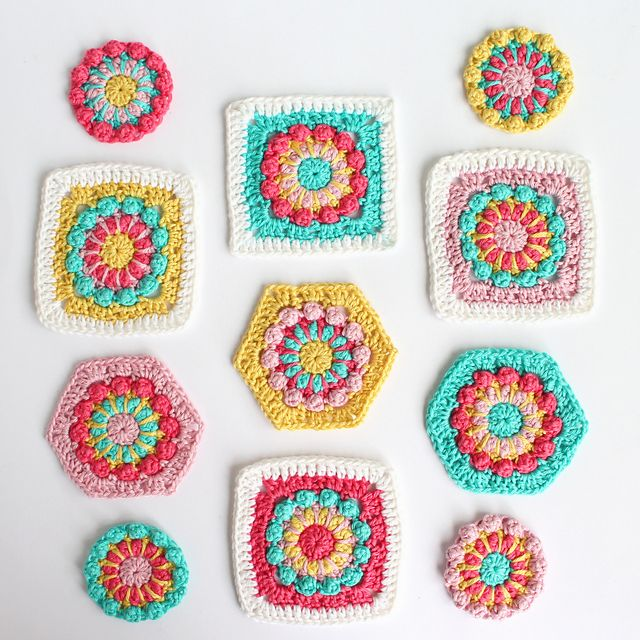 Ravelry Merry Go Round Motif Pattern By Poppy Bliss Michelle