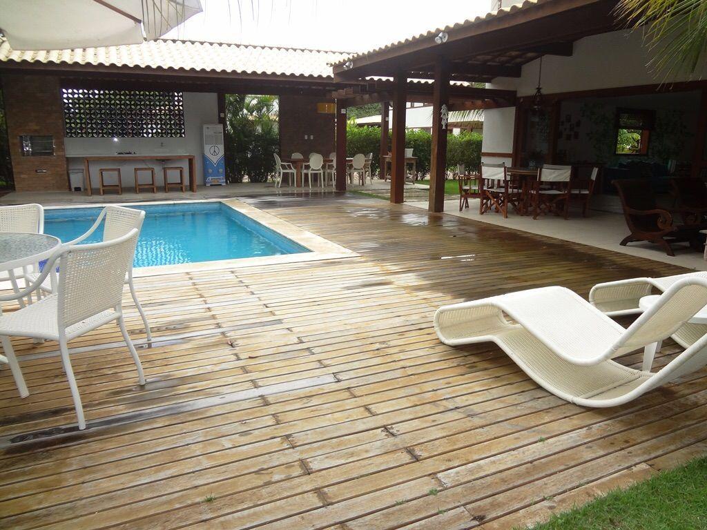casa Praia do Forte  - Vista varanda e área gourmet