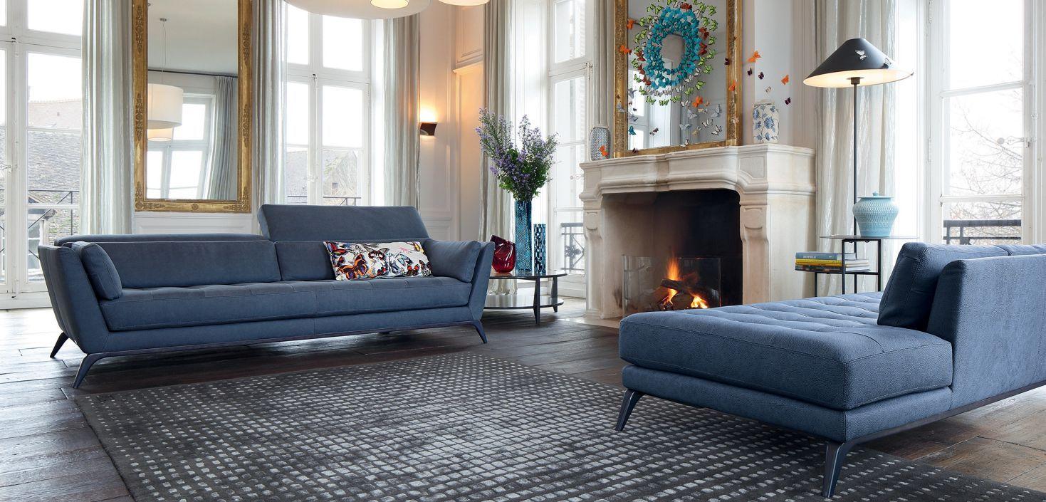 roche bobois syllabe sofa designed by philippe bouix. Black Bedroom Furniture Sets. Home Design Ideas