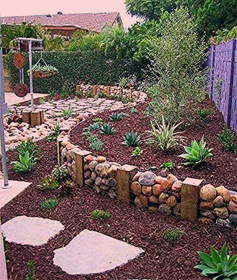 21 inšpirácií na dekorácie do záhrady z kameňov