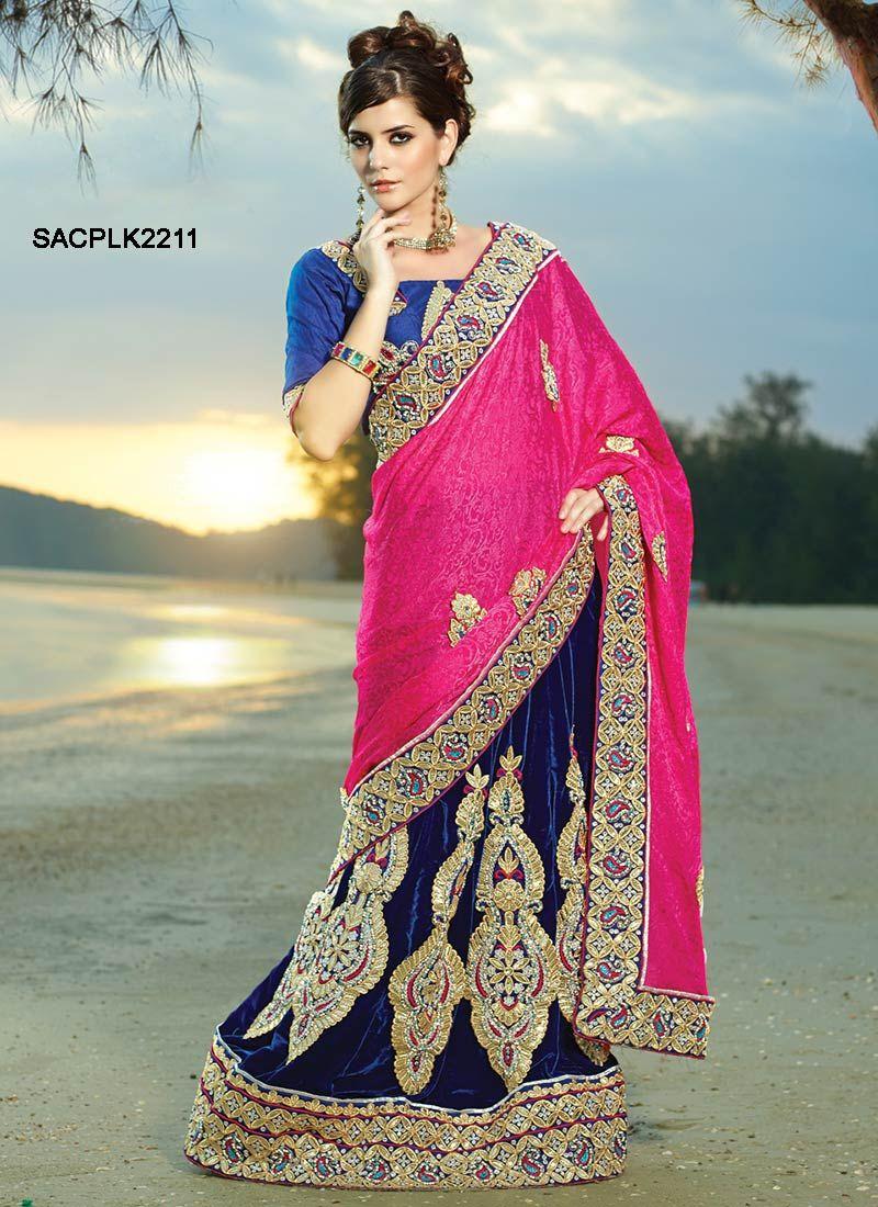 Velvet saree images  admirable jacquard lehenga saree  indian wedding clothes