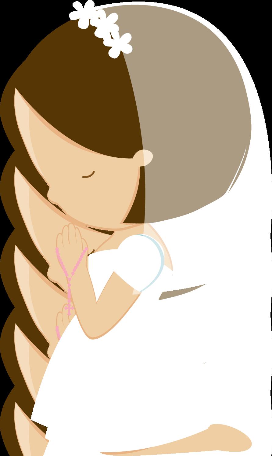 Imagen para primera comunión de niña. | primera comunion ... for Communion Girl Clipart  111ane