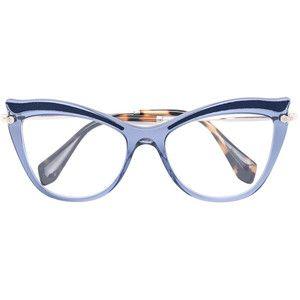 miu miu eyewear cat eye glasses - Miu Miu Glasses Frames