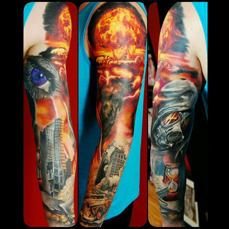 30 Mind-Blowing Painter-Style Tattoos By Dmitriy Samohin ...  |Apocalypto Tattoo