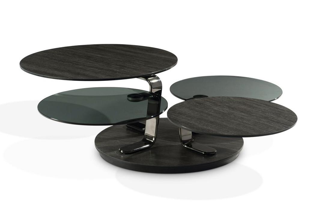 TABLE BASSE QUARTET, design Andrea Casati | Les séjours chez Roche ...