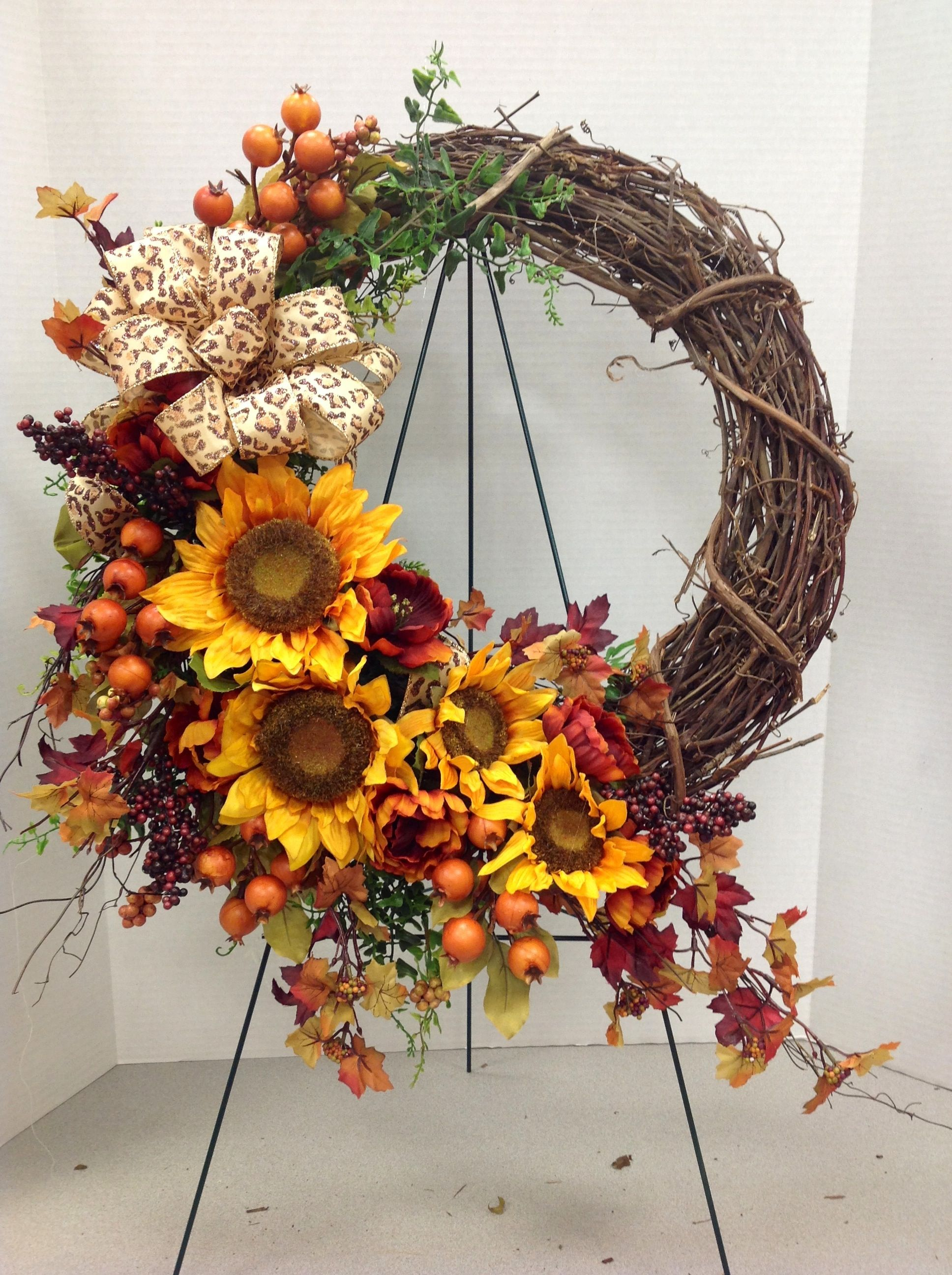 Fall Wreath 2013 By Andi 9989 My Floral Designs Fall