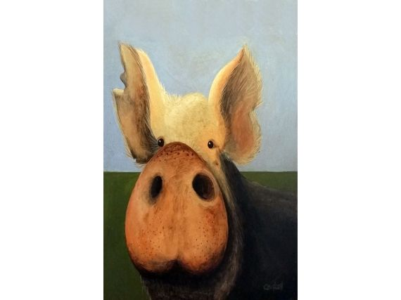 Pig Giclee Print by Tim Campbell | ArtsyHome