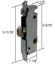 This is a patio door mortise lock, there are may different