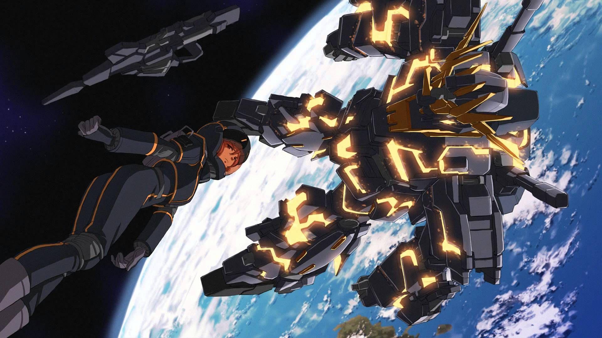 Banshee Gundam Unicorn Ost 3 1 High Quality 1080p Hd Unicorn Wallpaper Gundam Wallpapers Digital Artwork