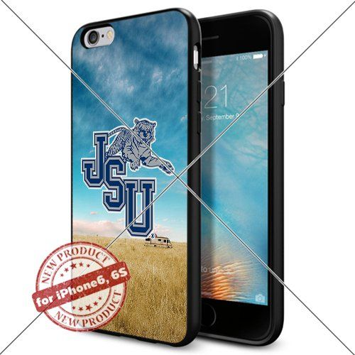 WADE CASE Jackson State Tigers Logo NCAA Cool Apple iPhone6 6S Case #1213 Black Smartphone Case Cover Collector TPU Rubber [Breaking Bad] WADE CASE http://www.amazon.com/dp/B017J7OPXY/ref=cm_sw_r_pi_dp_jgwxwb0865EZG