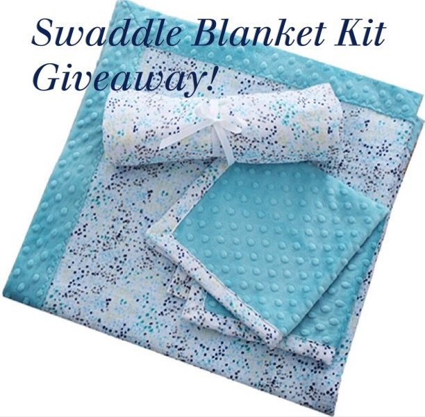 Shannon Fabrics + A Swaddle Blanket Kit Giveaway!