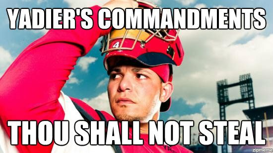 I love it when other teams break this commandment.