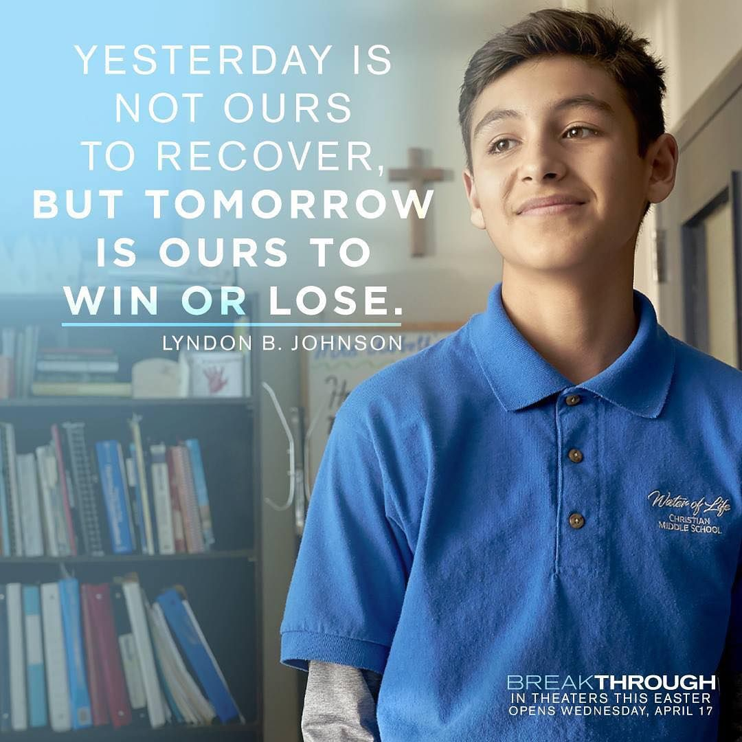 Breakthrough On Instagram Be Inspired By The Impossible True Story Of John Smith See Breakthroughmovie This Easte Breakthrough Christian Movies Marcel Ruiz